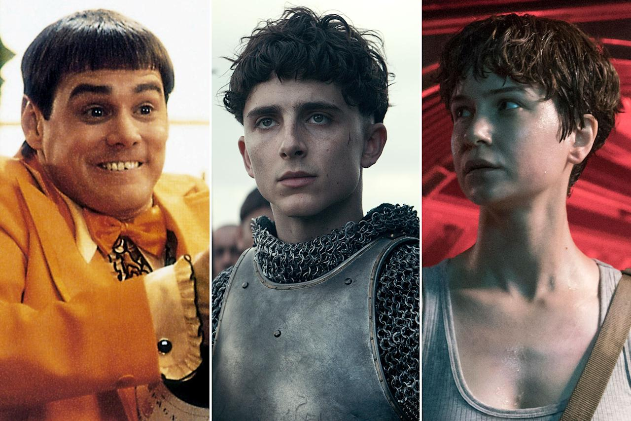 "Some things just won't die.   Like ""Duck Face"" or that sexy KFC fried chicken sandwich Halloween costume, the bowl cut just keeps slithering back into our current cultural discourse. Why? We asked Alessandro Bertolazzi, an Oscar-winning hair and makeup designer who gave <a href=""https://ew.com/tag/timothee-chalamet/"" target=""_blank"">Timothée Chalamet</a> his bowl cut in Netflix's <a href=""https://ew.com/creative-work/the-king-netflix/"" target=""_blank""><em>The King</em></a>, to find out.   ""It's become so popular because people like changing it and it's a continuing evolution,"" he says. ""People like it to be like an immitation of becoming like [the stars]. I don't think there's one specific [thing], but I'm not really interested...I don't care. I don't think about it."" (Which, fair.)  There's not much to the bowl cut. It's the look of your parents placing a bowl on your head as a kid and cutting around the edges. It's been around since ancient times, which is why it also makes a comeback in <em>The King</em>. <a href=""https://ew.com/movies/2019/10/11/the-king-timothee-chalamet-david-michod-interview/"" target=""_blank"">Director David Michôd told EW</a>, ""There's really only one existing portrait of Henry V. It's a famous bowl haircut.""  As for Hollywood history, the bowl cut has, for the most part, remained the same, though the context hasn't. Here's a brief look at the hairdo's onscreen evolution."