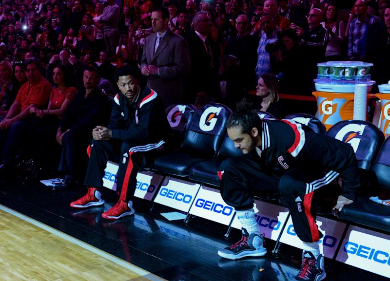 4531776333b9e Derrick Rose and Joakim Noah will get a different introduction at United  Center than they