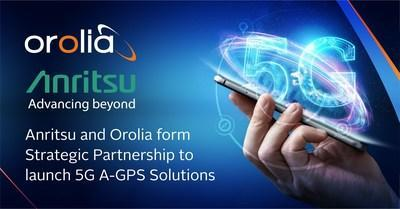 Anritsu and Orolia form strategic partnership to launch 5G assisted A-GPS CAT solutions for North American Carrier Acceptance Testing.