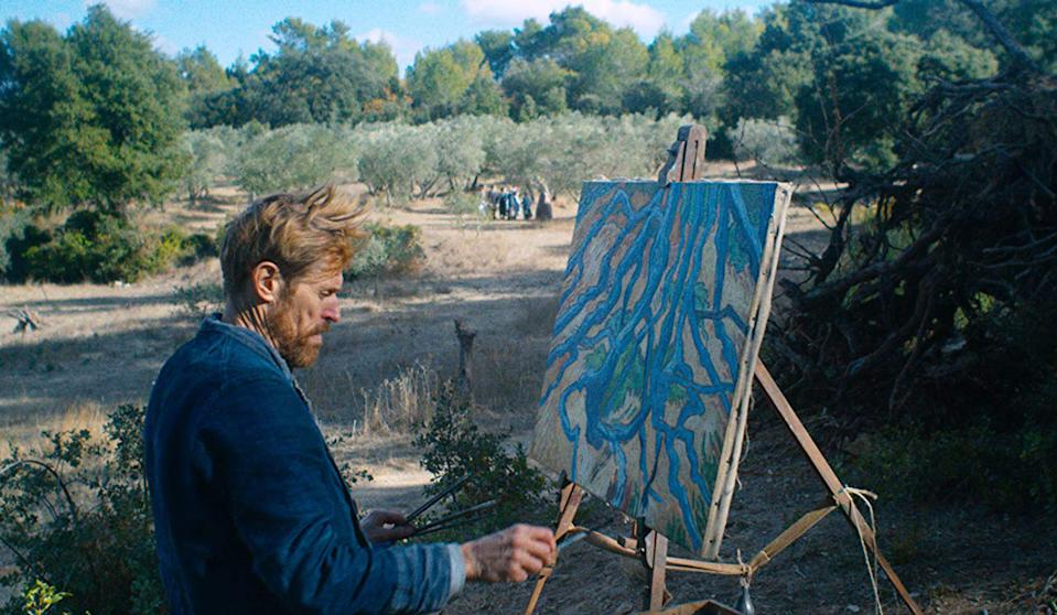 "Appleton native Willem Dafoe channels painter Vincent van Gogh in ""At Eternity's Gate,"" directed by visual artist and filmmaker Julian Schnabel."