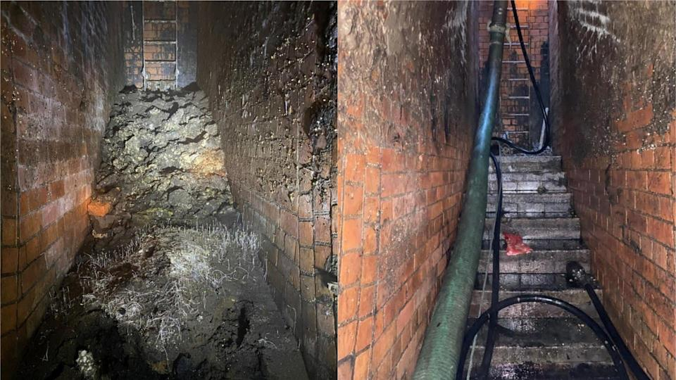 The fatberg is the latest in a series removed by Thames Water in recent years (Thames Water)