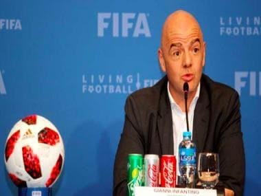 FIFA president Gianni Infantino praises Qatar for pushing ahead with World Cup preparations in spite of COVID-19