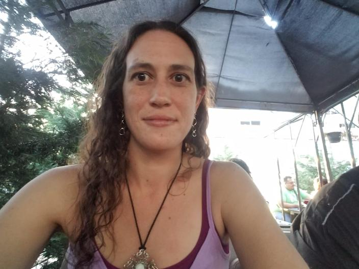 Kimberly Taliadouros makes roughly $3 an hour as a tipped worker.
