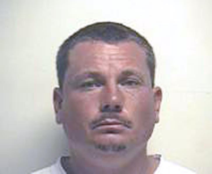 This undated image originally released by the Utah Sex Offender Registry and obtained by The Associated Press from a public records database shows Darren West, the estranged husband of Megan Huntsman, the Utah woman accused of concealing seven pregnancies before strangling or suffocating her newborns. West discovered one of the infant corpses in the garage of the couple's former home in Pleasant Grove, Utah, on Saturday, April 12, 2014. Police say West told them in his initial interview that he knew nothing about the pregnancies, but investigators are still trying to determine his knowledge or involvement. (AP Photo)