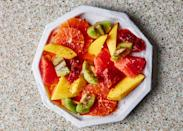 """This superfruit salad will give you the perfect jolt of vitamins you need to get back on the path of recovery. <a href=""""https://www.bonappetit.com/recipe/vitamin-c-superfruit-salad?mbid=synd_yahoo_rss"""" rel=""""nofollow noopener"""" target=""""_blank"""" data-ylk=""""slk:See recipe."""" class=""""link rapid-noclick-resp"""">See recipe.</a>"""