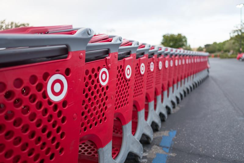 "A Target worker called the police on an ""angry and aggressive"" pregnant shopper who argued with an employee over a photocopied coupon. (Photo by Smith Collection/Gado/Getty Images)"