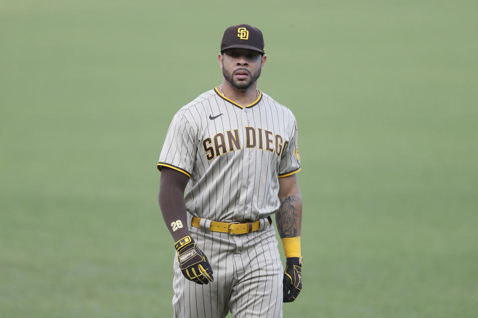 Tommy Pham of the San Diego Padres