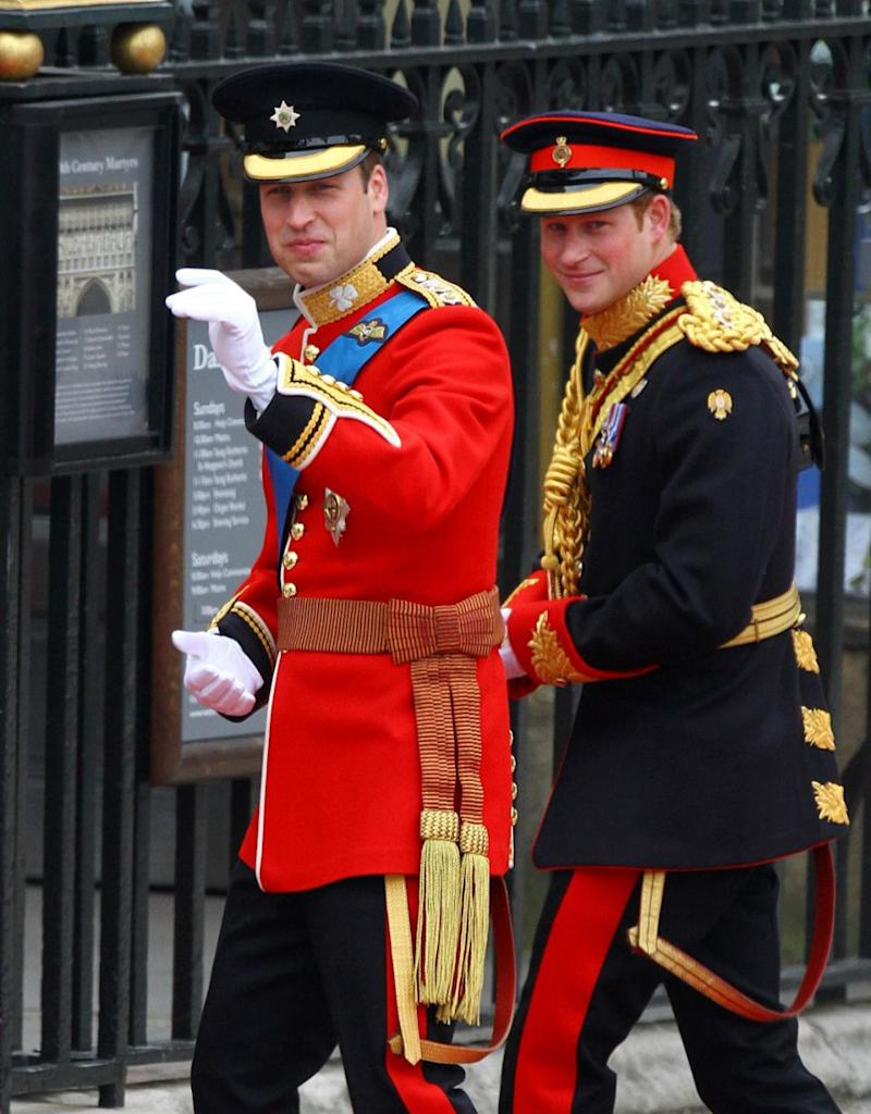 Prince Harry was Prince William's best man when he married Kate Middleton in April 2011. Photo: Getty Images