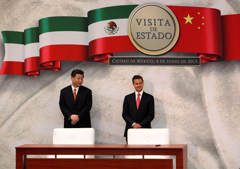 Mexico, China agreements aim at balancing trade