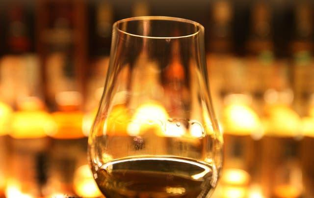 A glass of whisky (David Cheskin/PA)