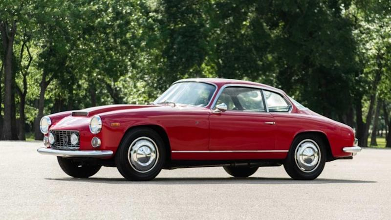 Incredibly Rare 1963 Lancia Flaminia Super Sport Could Be Yours