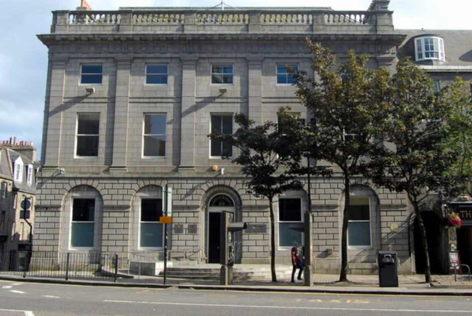 <em>Bruce pleaded guilty to culpable homicide at the High Court in Aberdeen (Geograph)</em>