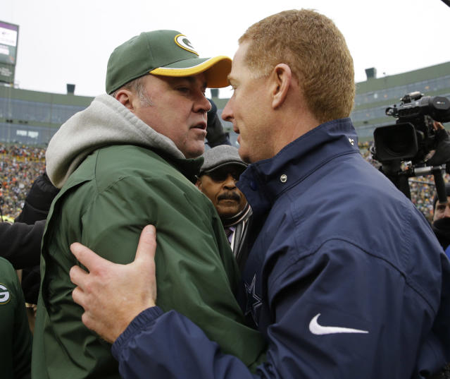 Mike McCarthy is taking Jason Garrett's job in Dallas, but can he take the Cowboys to another level? (AP Photo/Nam Y. Huh)