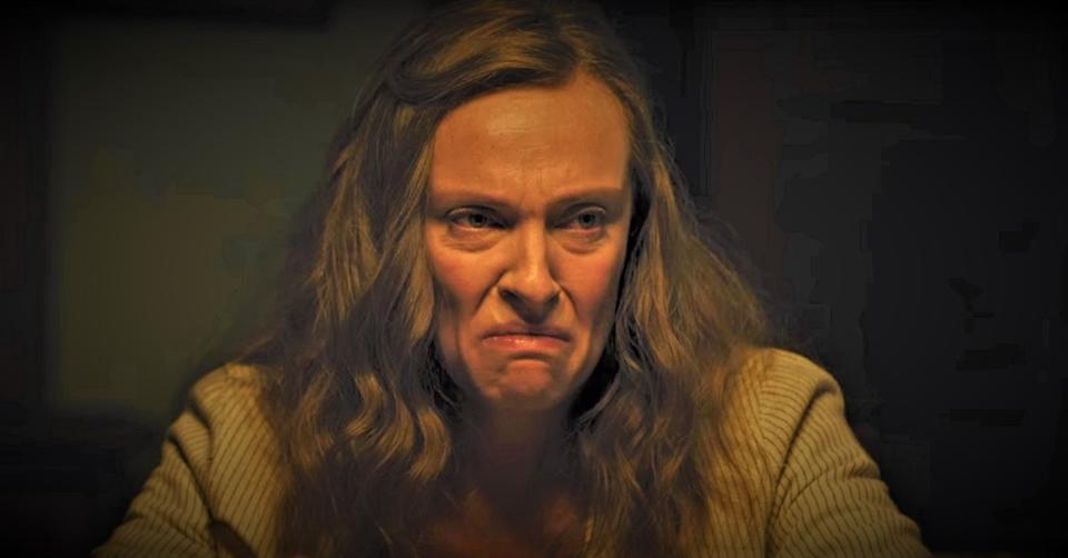 Toni Collette in Ari Aster's horror movie 'Hereditary'.