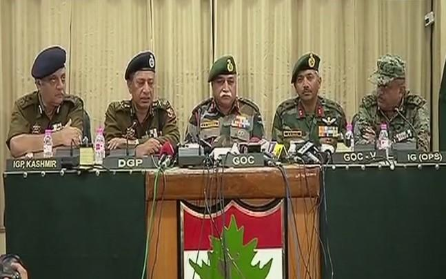 <p>Top security officials today lauded the operative success in the Bandipora encounter and trashed reports of ISIS imprint in the Valley after the group today claimed responsibility for the Zakura attack on Friday. </p>