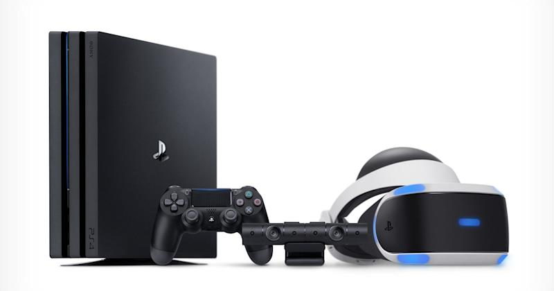 Sony's PS4 and PSVR