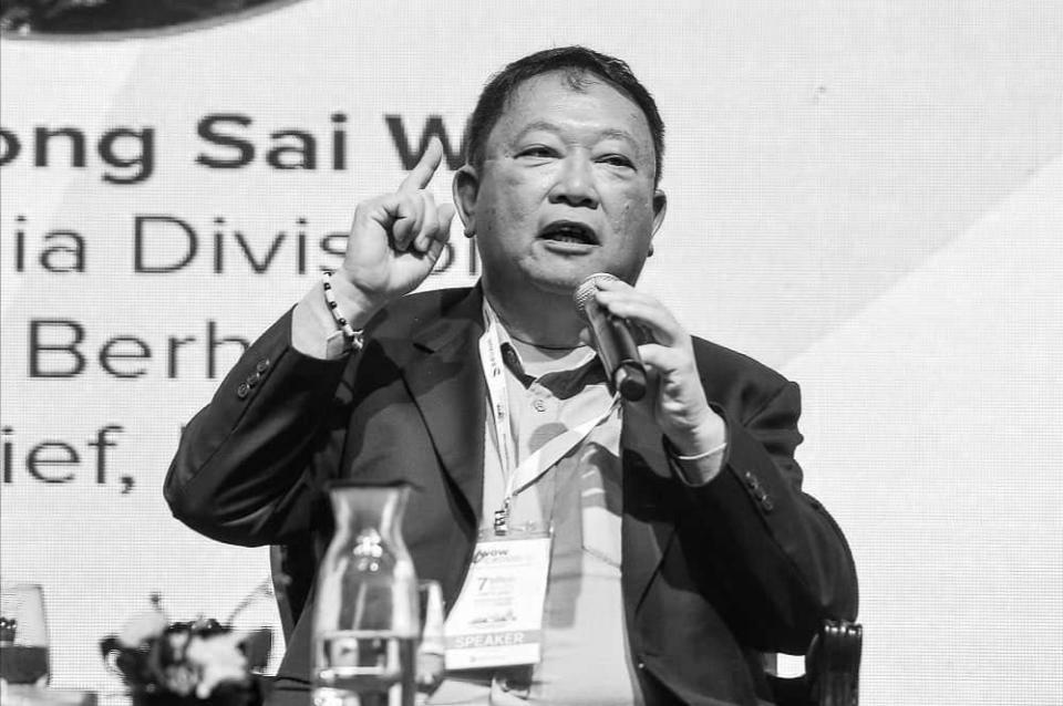 Malay Mail editor-in-chief Datuk Wong Sai Wan died earlier today from a heart attack. — Picture by Miera Zulyana