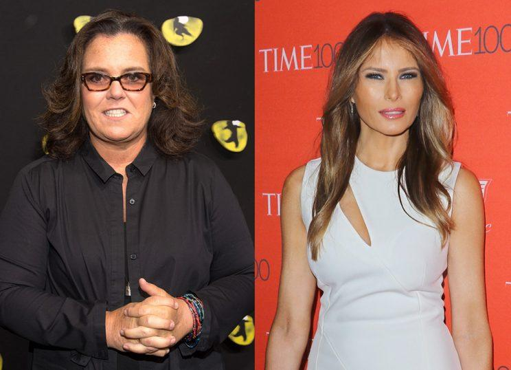 Rosie O'Donnell Apologizes to Melania Trump