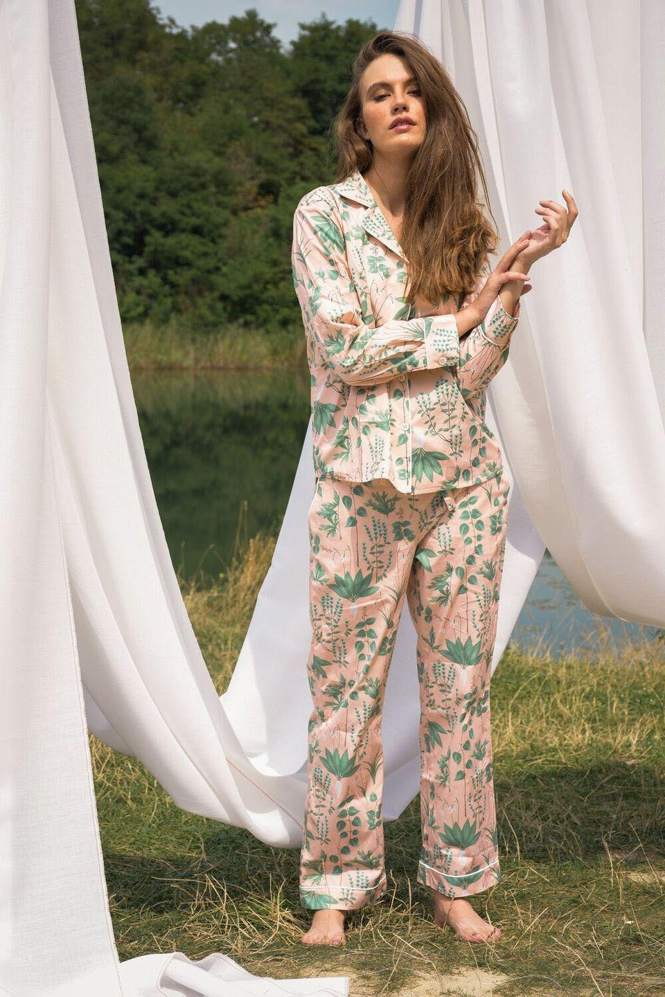 """<p><a class=""""link rapid-noclick-resp"""" href=""""https://phriya.com/"""" rel=""""nofollow noopener"""" target=""""_blank"""" data-ylk=""""slk:SHOP NOW"""">SHOP NOW</a></p><p>New label Phriya is inspired by the beautiful landscape of little-known Italian island Ponza. Styles have a luxe feel, from mother of pearl buttons and French seams to the hand-painted prints. There is also a focus on sustainable fabrics - the brand uses 100 per cent natural cotton and a fabrics supplier affiliated with one of the largest global sustainable cotton initiatives.<br></p>"""