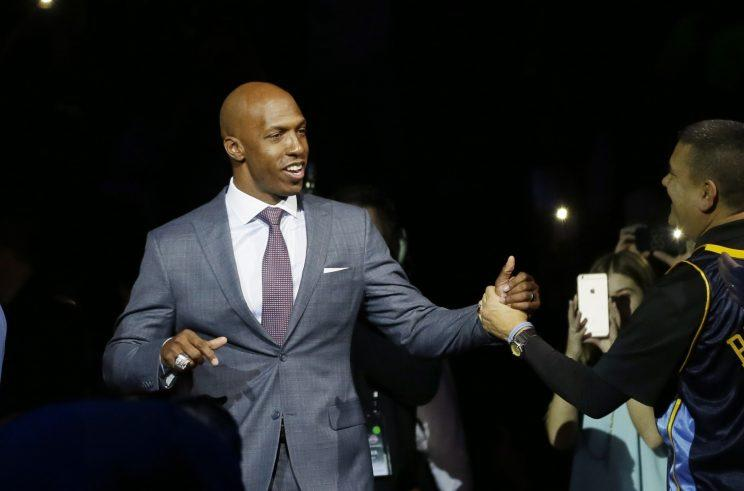 Chauncey Billups will remain with ESPN. (AP)