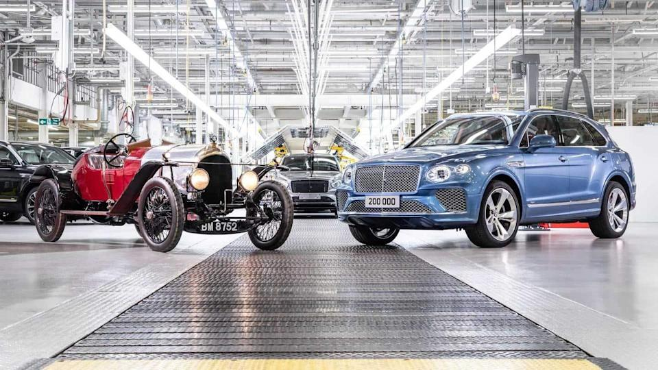 Bentley rolls-out 200,000th car, a feat that took 102 years