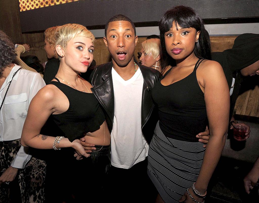 EXCLUSIVE-Miami Beach, FL - 04/05/13 - Pharrell Williams Birthday at Arkadia & LIV at Fontainebleau
