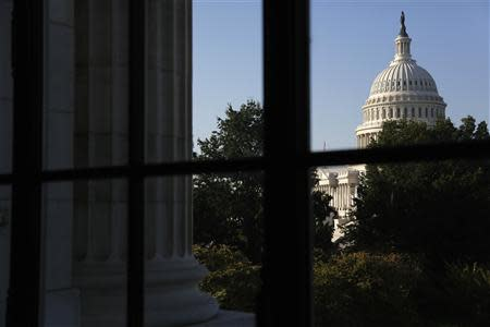 A general view of the U.S. Capitol in Washington, October 2, 2013. REUTERS/Jonathan Ernst