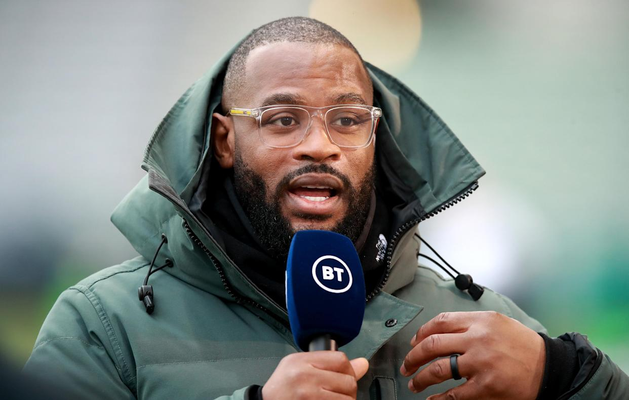 Ugo Monye is now a pundit for rugby coverage on BT Sport. (David Rogers/Getty Images)