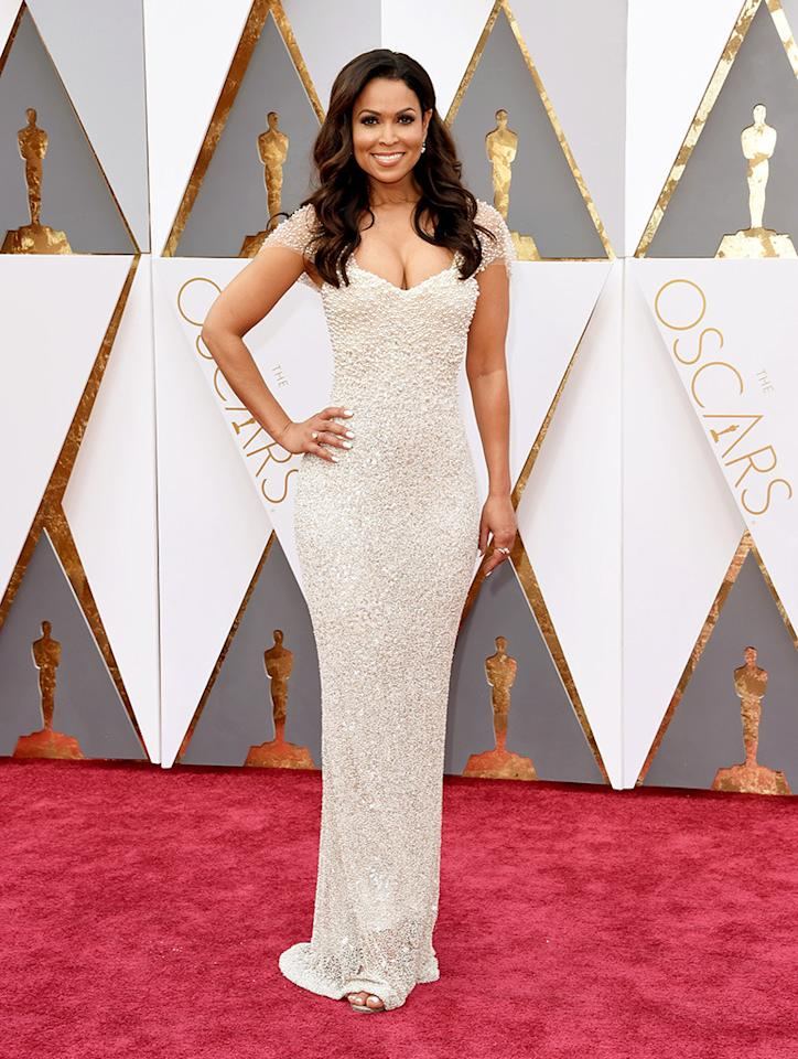 Tracey Edmonds attends the 88th Annual Academy Awards at the Dolby Theatre on February 28, 2016, in Hollywood, California.