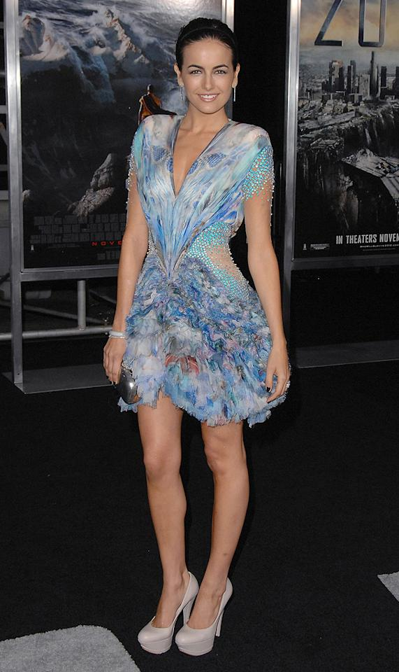 """<a href=""""http://movies.yahoo.com/movie/contributor/1800024058"""">Camilla Belle</a> at the Los Angeles premiere of <a href=""""http://movies.yahoo.com/movie/1810045661/info"""">2012</a> - 11/03/2009"""