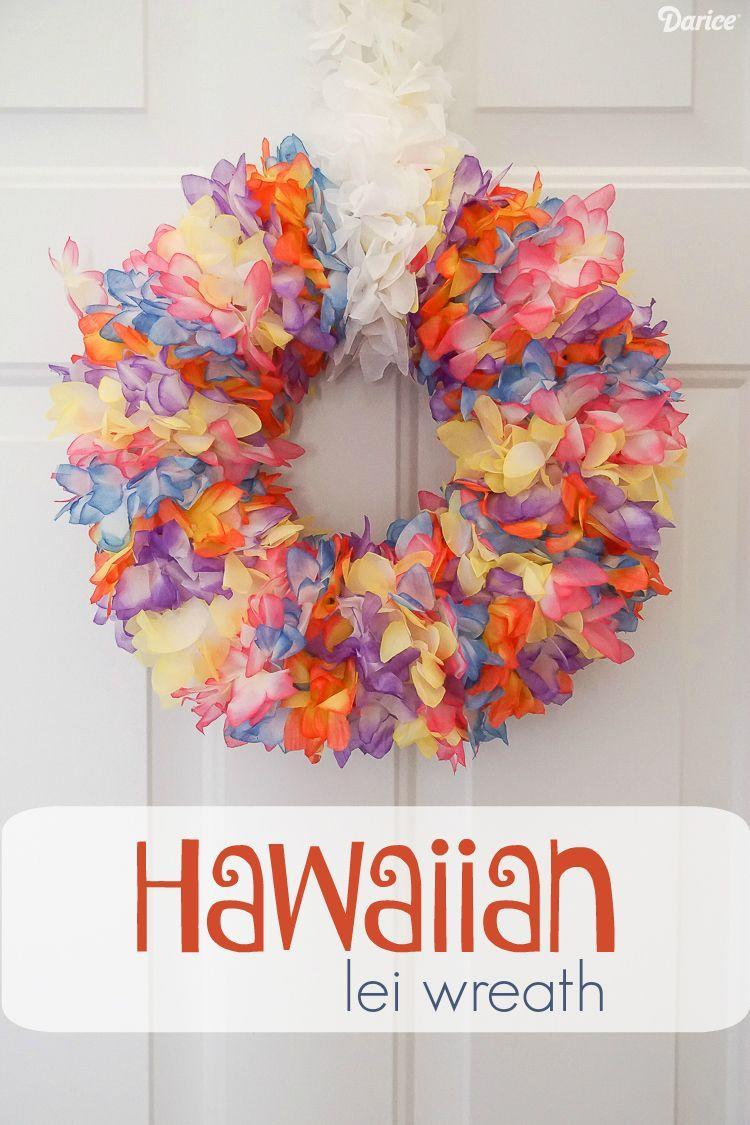 "<p>Here's an idea that's sheer genius: making a summer wreath out of Hawaiian leis. It takes some doing to hot glue the lei strings to the wreath form, but we think you'll agree it's totally worth the effort!</p><p><strong>Get the tutorial at <a href=""http://blog.darice.com/home-decor/wreaths/hawaiian-diy-lei-wreath/"" rel=""nofollow noopener"" target=""_blank"" data-ylk=""slk:Darice"" class=""link rapid-noclick-resp"">Darice</a>.</strong></p><p><a class=""link rapid-noclick-resp"" href=""https://www.amazon.com/Mahalo-Floral-Leis-Package-Oojami/dp/B01I4GEBQK/ref=sr_1_3?tag=syn-yahoo-20&ascsubtag=%5Bartid%7C10050.g.4395%5Bsrc%7Cyahoo-us"" rel=""nofollow noopener"" target=""_blank"" data-ylk=""slk:SHOP HAWAIIAN LEIS"">SHOP HAWAIIAN LEIS</a></p>"