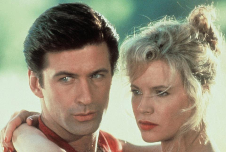 Baldwin as Charley Pearl and Basinger as Vicki Anderson in 'The Marrying Man' (Photo: Buena Vista/courtesy Everett Collection)