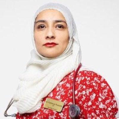 Photographer Rankin shot Dr Farzana Hussein as part of his series celebrating NHS heroesRankin