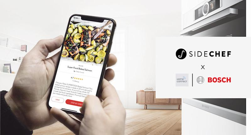 Cooking platform SideChef expands its empire with new smart kitchen partnerships