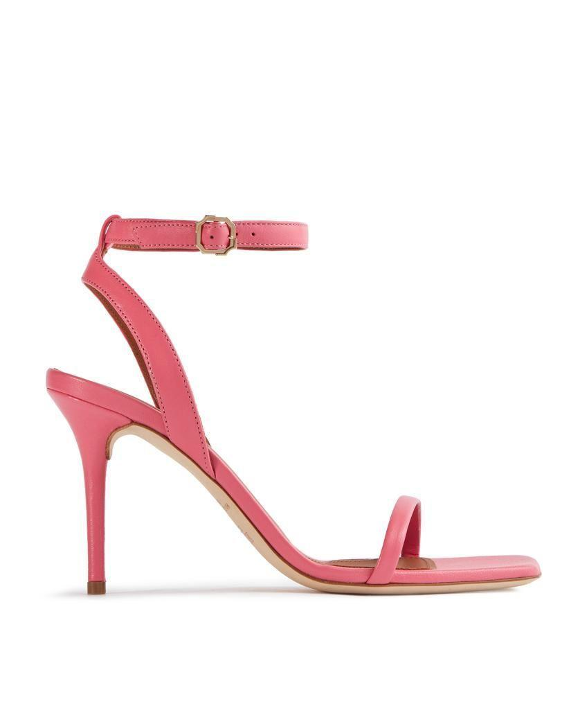 """<p><a class=""""link rapid-noclick-resp"""" href=""""https://go.redirectingat.com?id=127X1599956&url=https%3A%2F%2Fwww.malonesouliers.com%2Fcollections%2Fnew-arrivals%2Fproducts%2Ferin-85mm-coral-pink-nappa-heeled-sandals&sref=https%3A%2F%2Fwww.townandcountrymag.com%2Fuk%2Fstyle%2Ffashion%2Fg36618413%2Fwhat-to-wear-to-royal-ascot%2F"""" rel=""""nofollow noopener"""" target=""""_blank"""" data-ylk=""""slk:SHOP NOW"""">SHOP NOW</a></p><p>With a leg-lengthening heel that's still under 10cm, Malone Soulier's sleek sandals look supremely stylish and are still effortlessly wearable. </p><p>Sandals, £425, Malone Souliers.</p>"""