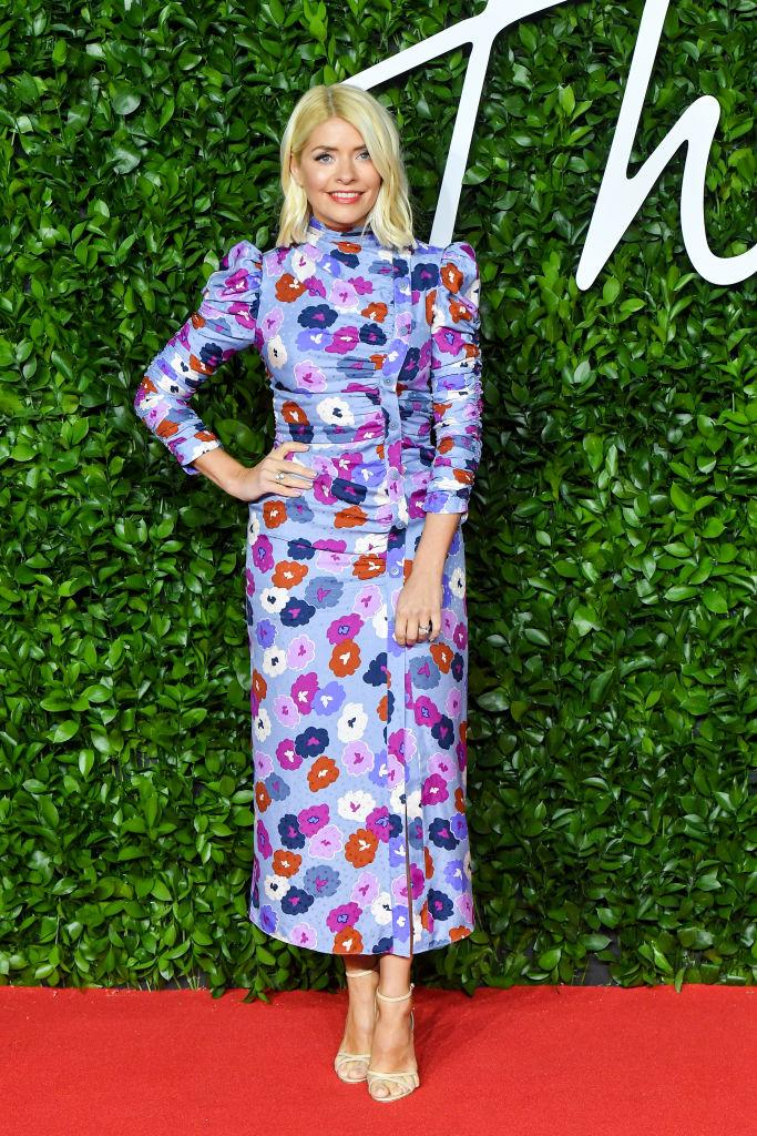 The TV presenter's style has proven popular during lockdown. (Getty Images)
