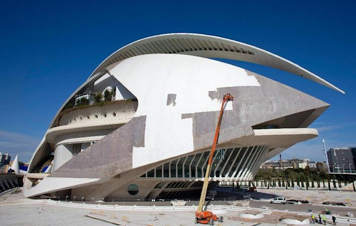 Valencia's City of Arts and Sciences is cited as an example of a drain on the public purse (AFP Photo/Jose Jordan)