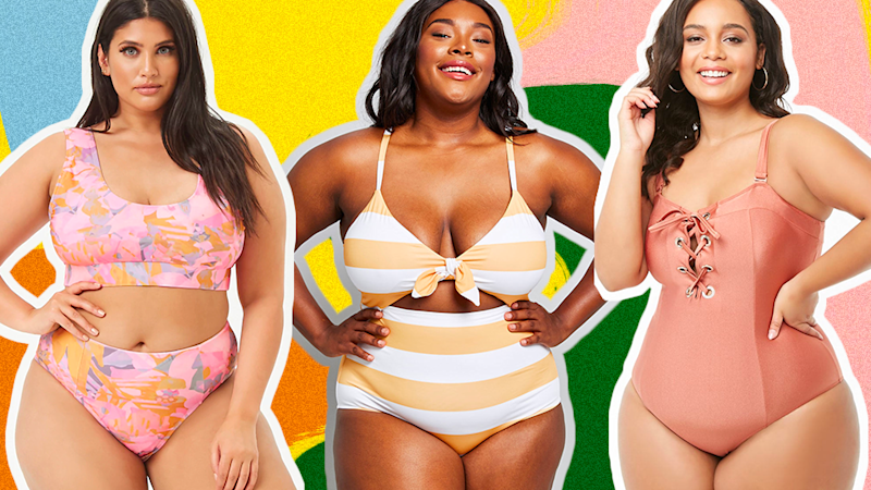 41 Cute Plus-Size Swimsuits to Get You Poolside Ready