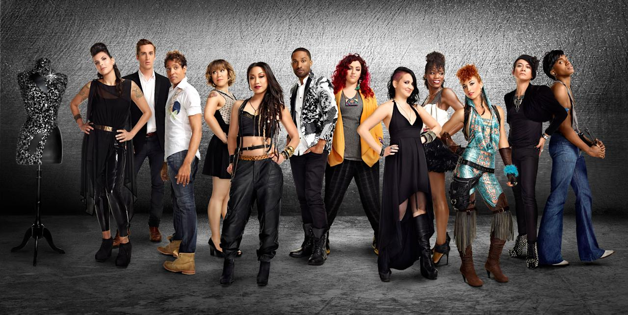"The cast of ""Styled to Rock"" Season 1."