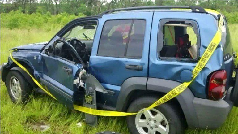 Seymour is in recovery after being hit by his Jeep in the Douglas County tornado on Tuesday. (Credit: FOX4KC)