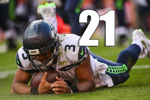 <p>Aside from Russell Wilson, Doug Baldwin might have been the one guy the Seahawks couldn't afford to lose. (Russell Wilson) </p>