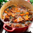 """<p>This cost-conscious casserole is delicious, nutritious and works out at just under a pound per serving!</p><p><strong>Recipe: <a href=""""https://www.goodhousekeeping.com/uk/food/recipes/a536212/lamb-and-rosemary-stew/"""" rel=""""nofollow noopener"""" target=""""_blank"""" data-ylk=""""slk:Lamb and rosemary stew"""" class=""""link rapid-noclick-resp"""">Lamb and rosemary stew</a></strong></p>"""