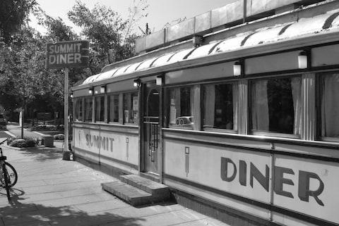 The Summit Diner, built by the O'Mahony Company in 1938, is the oldest operating diner in the state - Credit: Jeff Boyce