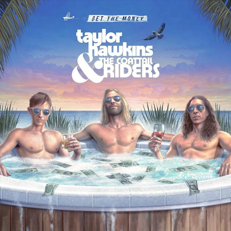 taylor hawkins get the money album artwork Foo Fighters Taylor Hawkins announces new album, featuring Dave Grohl, Chrissie Hynde, and more