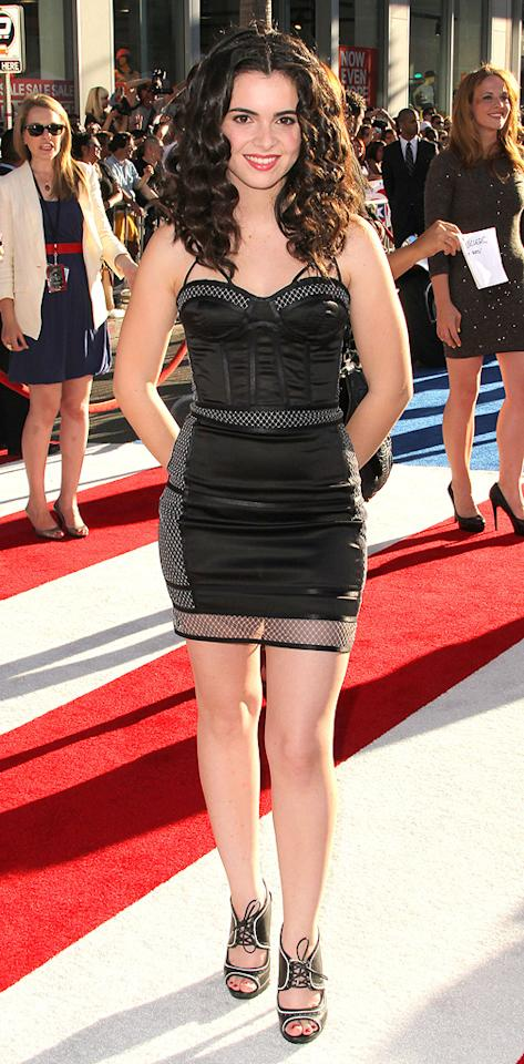 """<a href=""""http://movies.yahoo.com/movie/contributor/1809092025"""">Vanessa Marano</a> at the Los Angeles premiere of <a href=""""http://movies.yahoo.com/movie/1810026349/info"""">Captain America: The First Avenger</a> on July 19, 2011."""