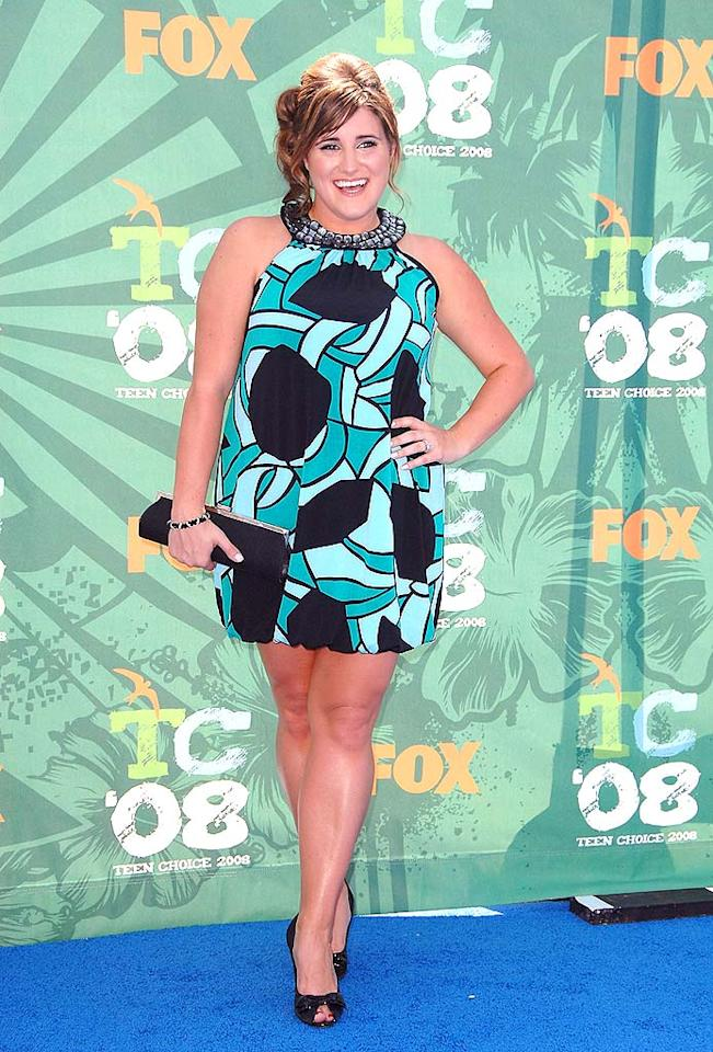 """""""HSM"""" star KayCee Stroh needed a different stylist! Her AUW halter wasn't nearly as hot as her BCBG peep-toes. Steve Granitz/<a href=""""http://www.wireimage.com"""" target=""""new"""">WireImage.com</a> - August 3, 2008"""