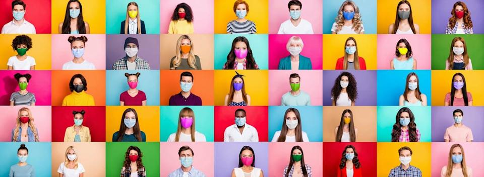 """<span class=""""caption"""">Simply making an effort to consider the person behind the mask can help address the biases exacerbated by wearing one.</span> <span class=""""attribution""""><span class=""""source"""">(Shutterstock)</span></span>"""