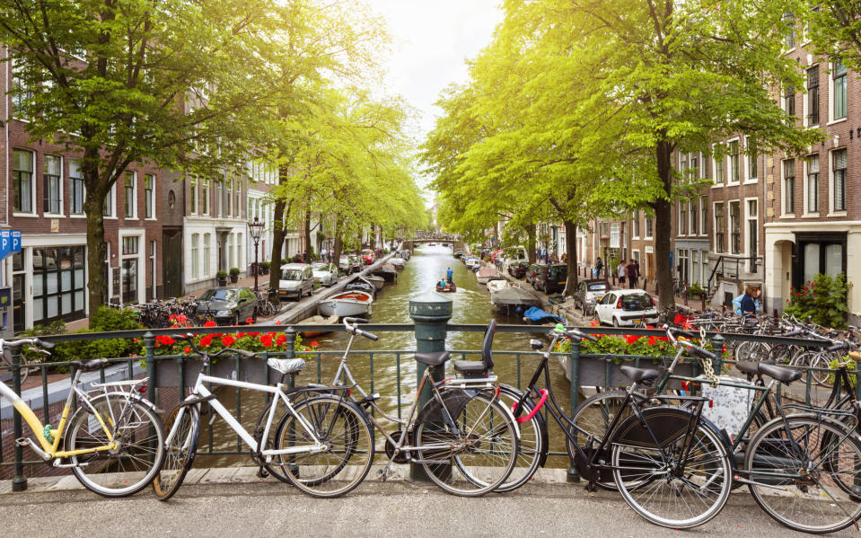 Amsterdam is reopening - getty