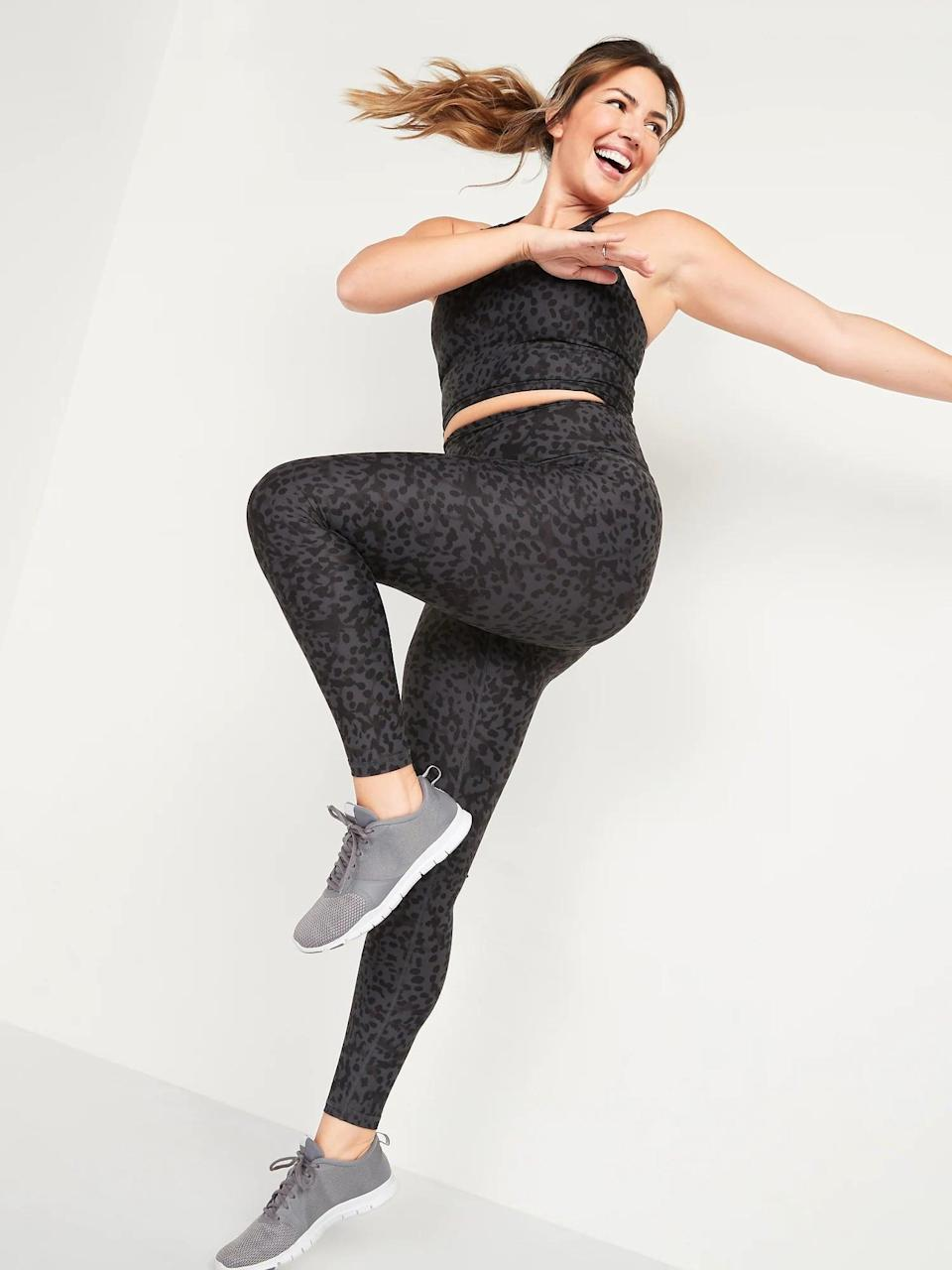 <p>These gray leopard <span>High-Waisted Hidden-Pocket Leggings for Women</span> ($20-$40, originally $40) are perfectly subtle. </p>