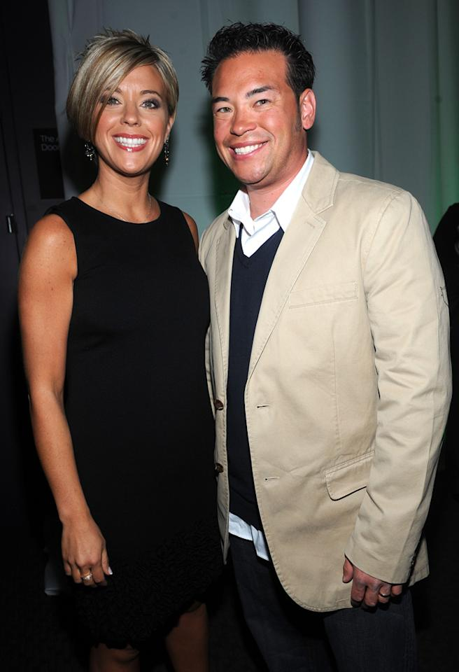 NEW YORK - APRIL 02: Kate Gosselin and Jon Gosselin attend Discovery Upfront at Jazz at Lincoln Center on April 2, 2009 in New York City. (Photo by Brad Barket/WireImage for Discovery Communications) *** Local Caption *** Jon Gosselin;Kate Gosselin